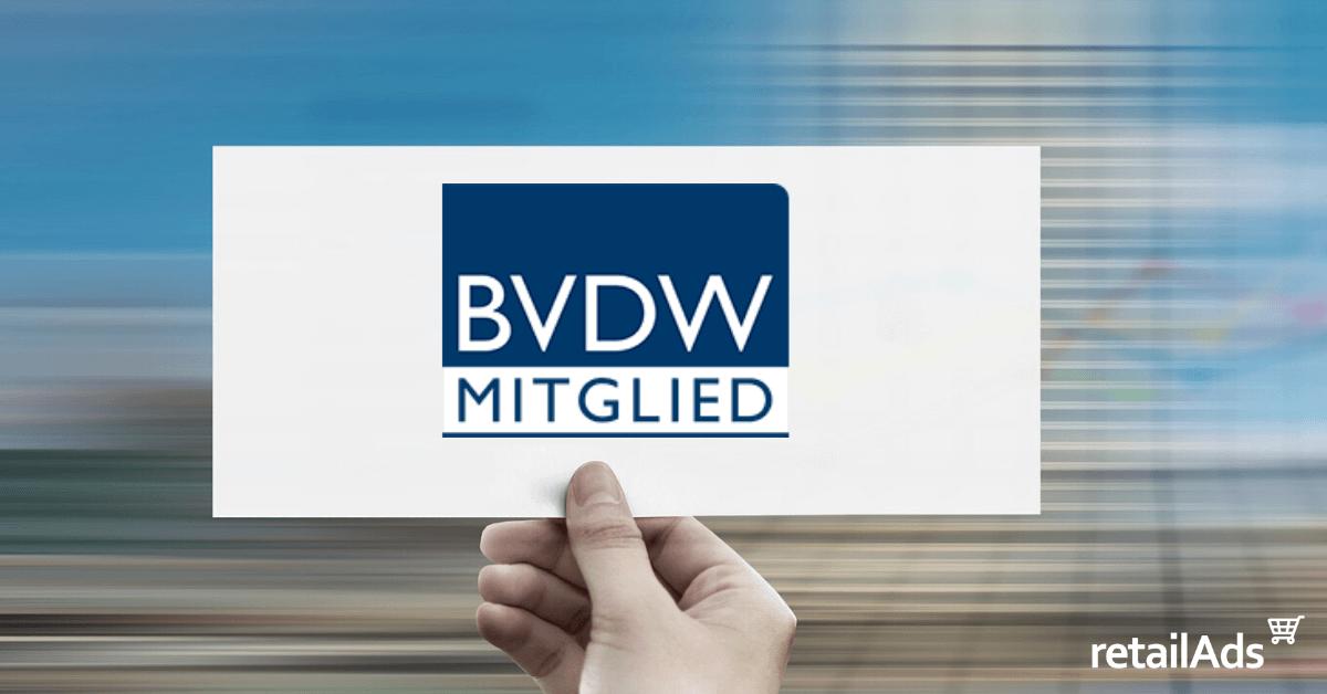 retailAds wird BVDW Mitglied